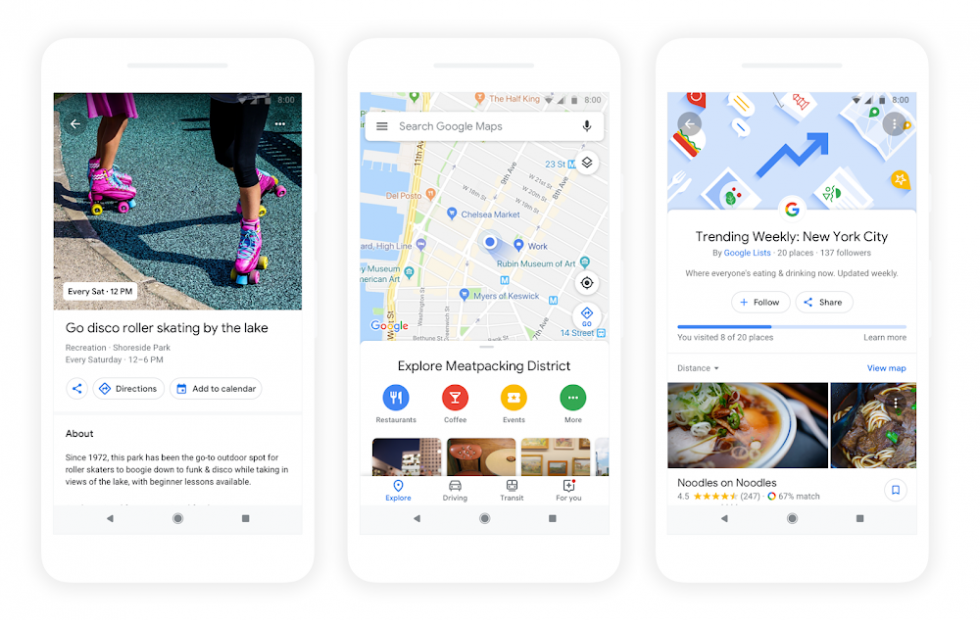 Google Maps has a ton of personalization features launching today