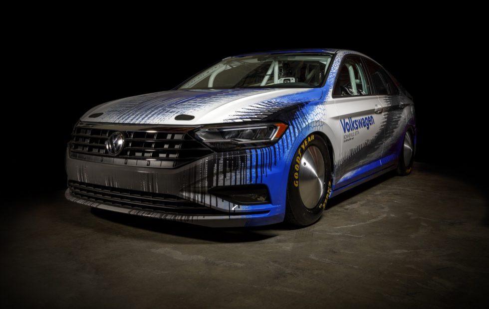 VW made a Bonneville speed demon to tease the Jetta GLI