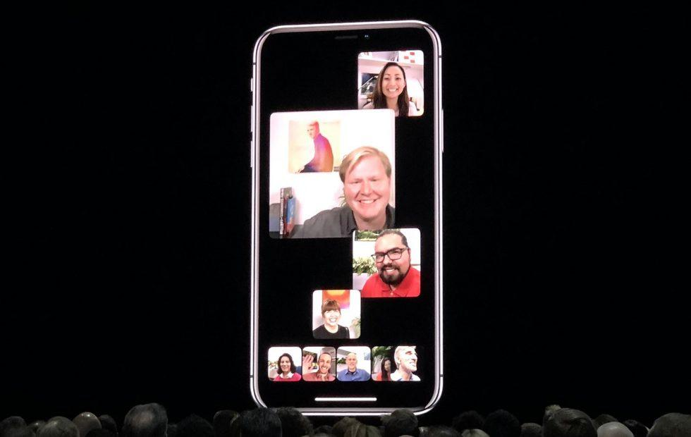 Group FaceTime in iOS 12 supports up to 32 people