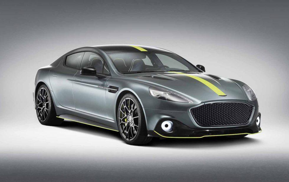 Aston Martin Rapide AMR gives 580hp four-door a racing makeover