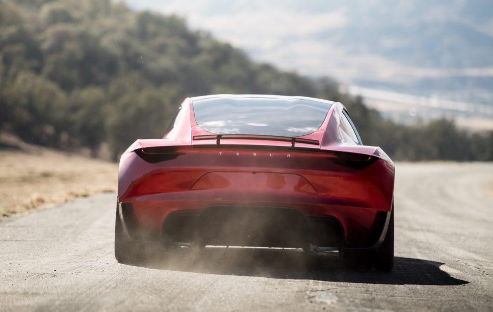 Elon Musk wasn't joking about the Tesla Roadster having rockets