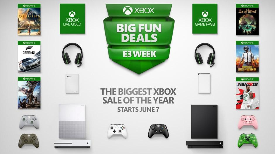 Xbox One X deals lead the charge in Microsoft's E3 sale