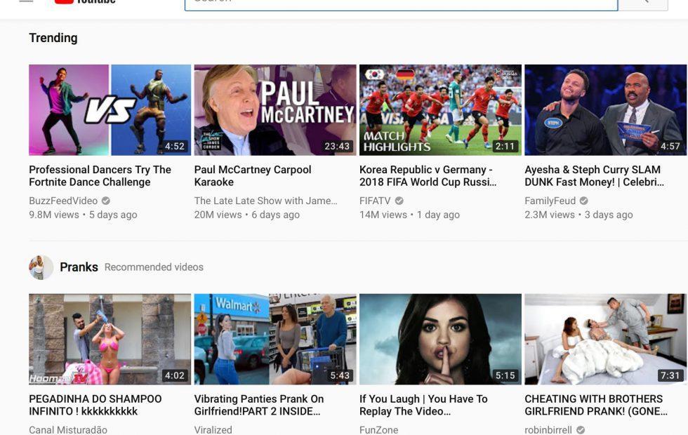 YouTube thumbnail test apes Netflix but creators are furious