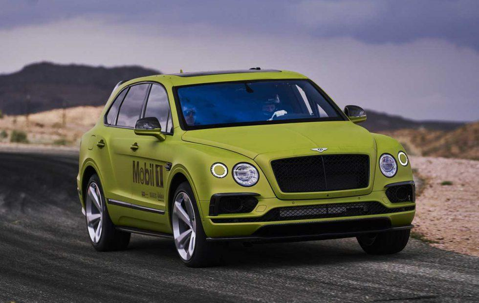 Bentley Bentayga is ready to tackle Pikes Peak International Hill Climb