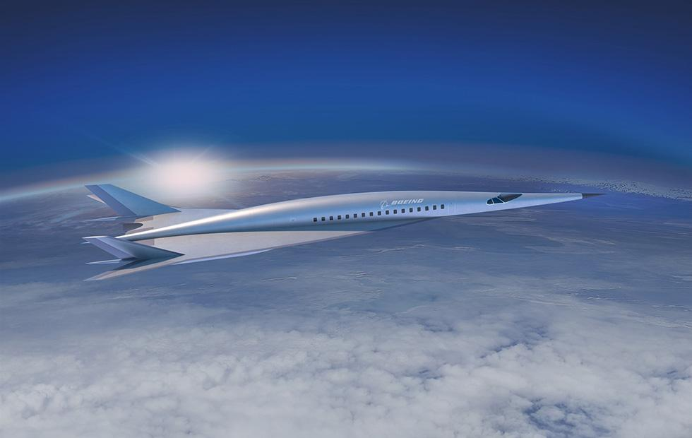 Boeing hypersonic plane concept teases 2-hour flights from NY to London