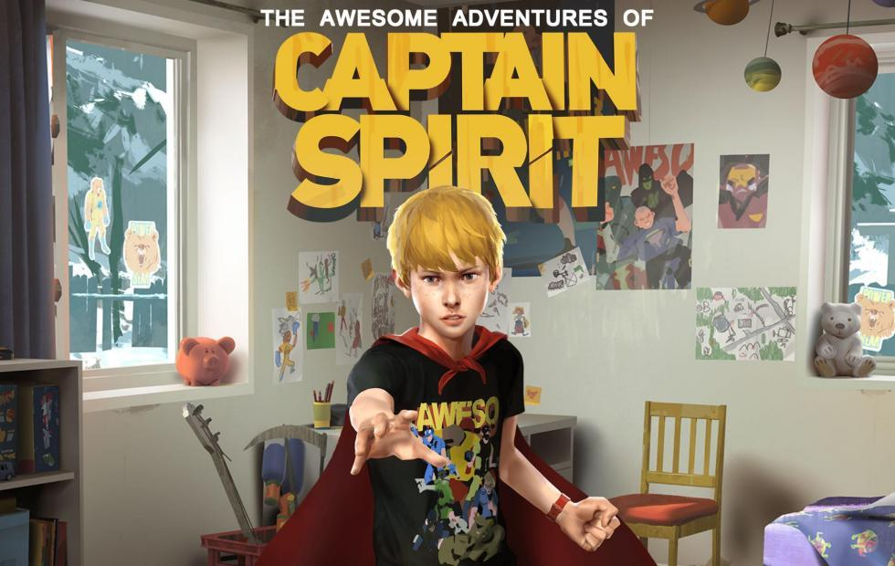 The Awesome Adventures of Captain Spirit launches to pull at hearstrings