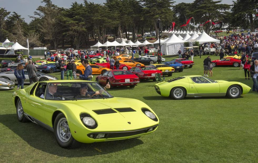 Concorso Italiano marks 33rd year with most exotic car collection yet