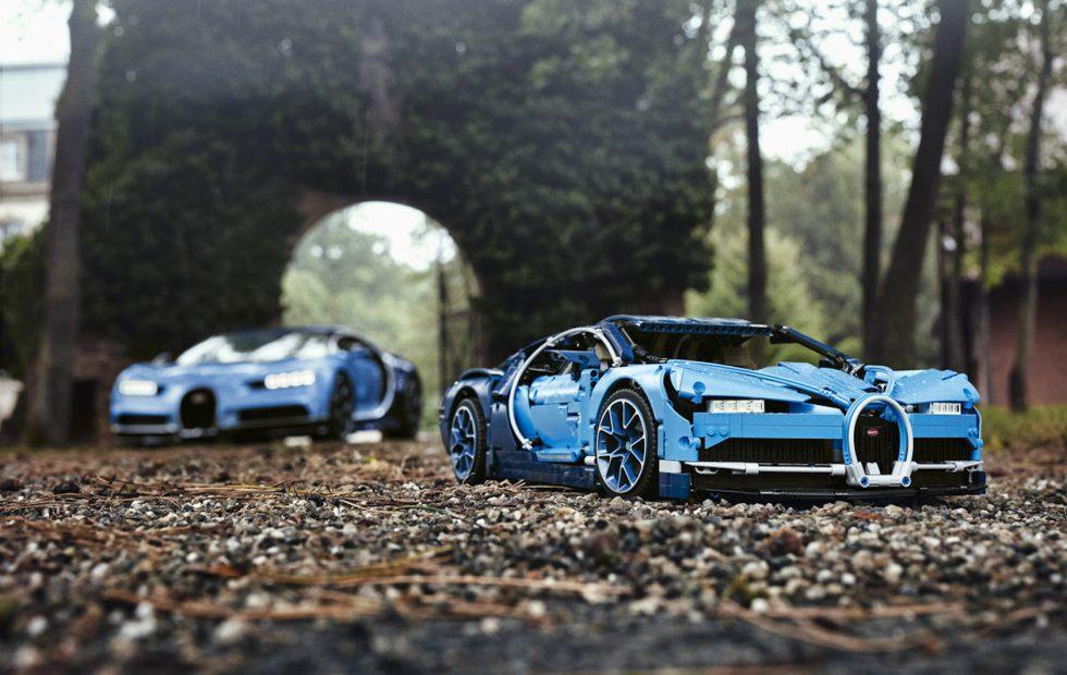 LEGO's Bugatti Chiron is a 3,599 piece DIY supercar