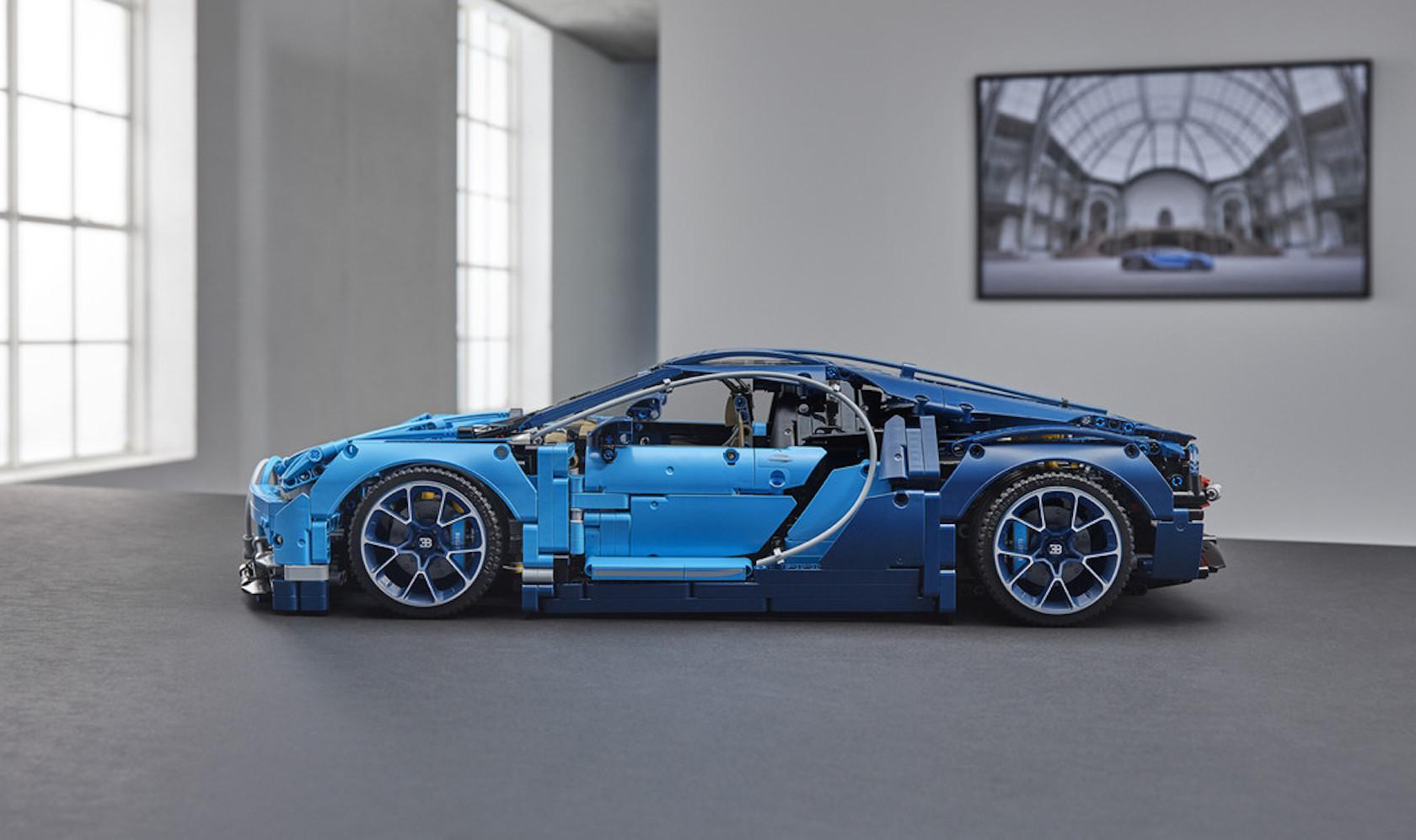 Lego S Bugatti Chiron Is A 3 599 Piece Diy Supercar Slashgear