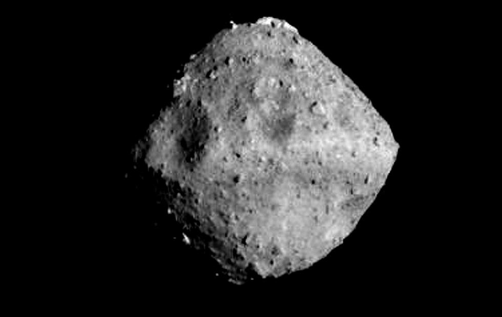 Japan found a cube rock in space [WATCH: LIVE FEED]