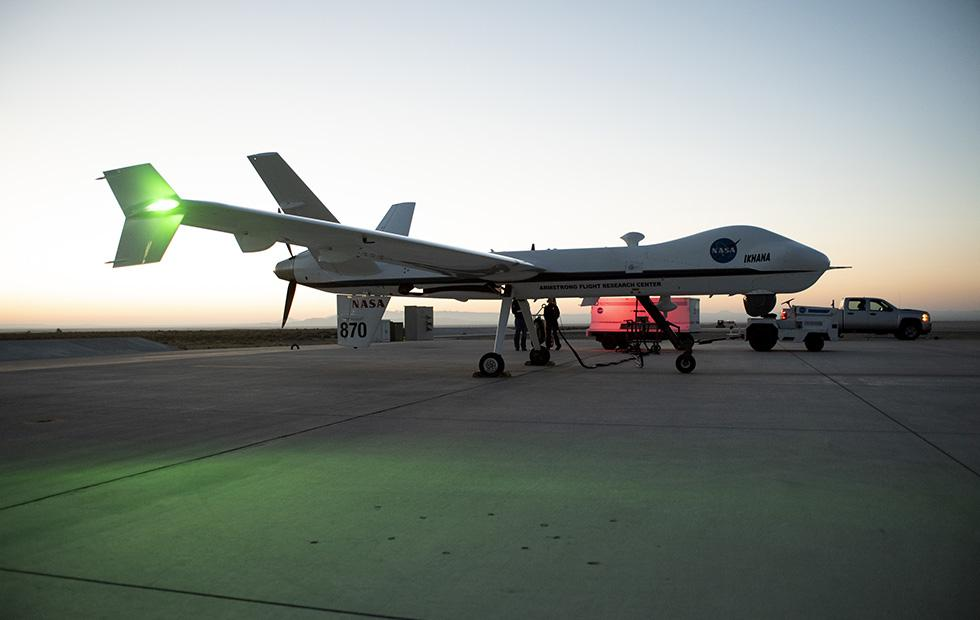 NASA flies UAV in public airspace sans safety chaser for first time
