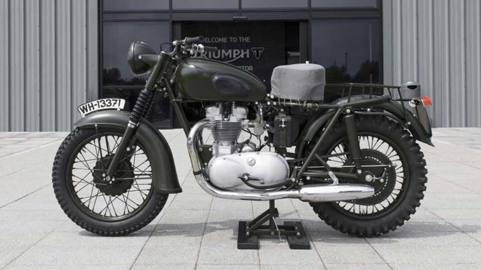 "Motorcycle from Steve McQueen flick ""The Great Escape"" surfaces"