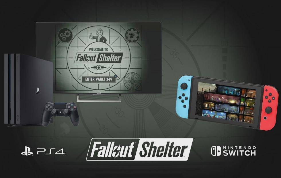 Fallout Shelter now on Nintendo Switch, PS4