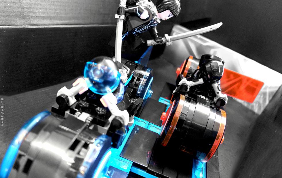TRON Legacy Light Cycle LEGO Review