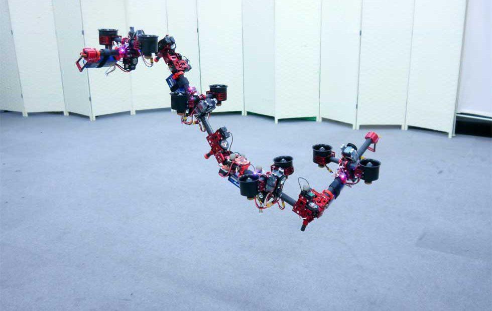 University of Tokyo creates flying DRAGON drone