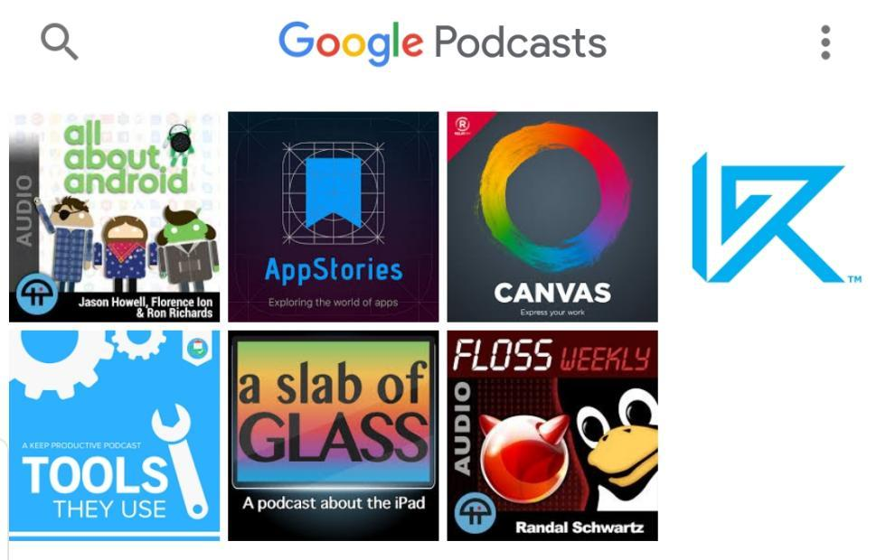 Google Podcasts hands-on: new Google minimalism at work
