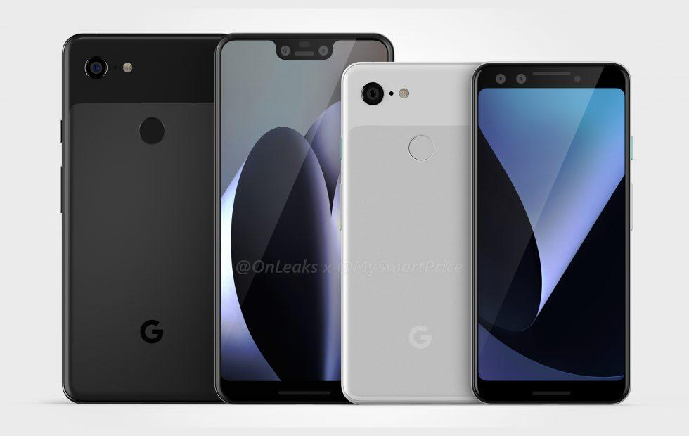 Google Pixel 3 leaked fully