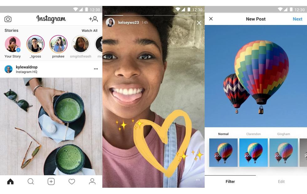 Instagram Lite sneaks into Android