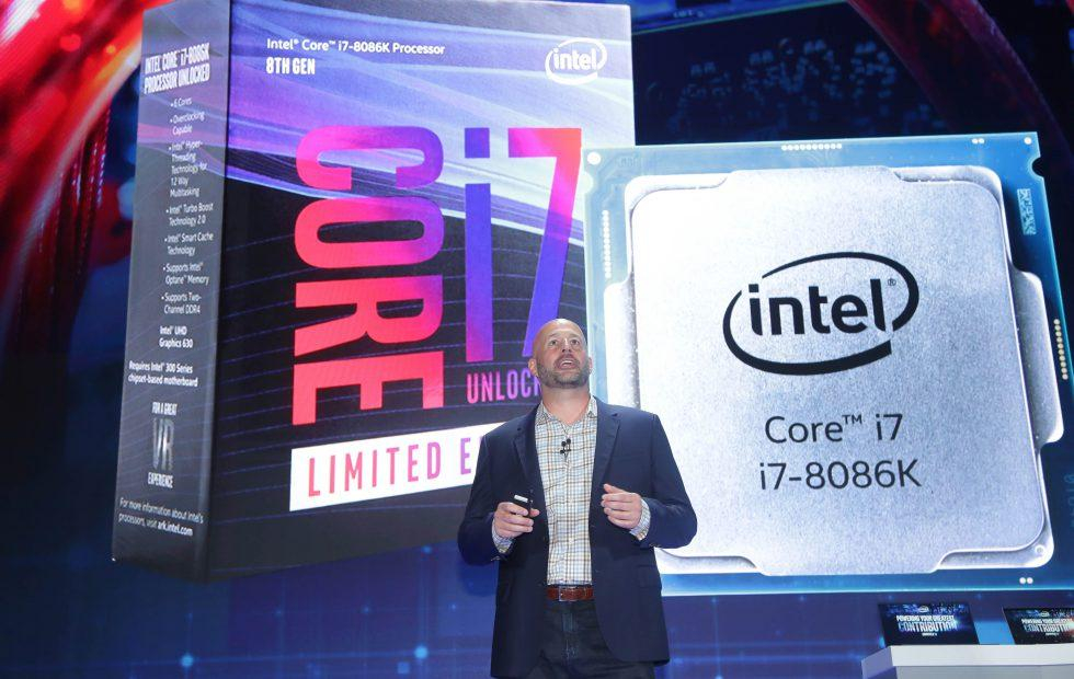 Intel's 5GHz Core i7-8086K, low power displays wow at Computex reveals