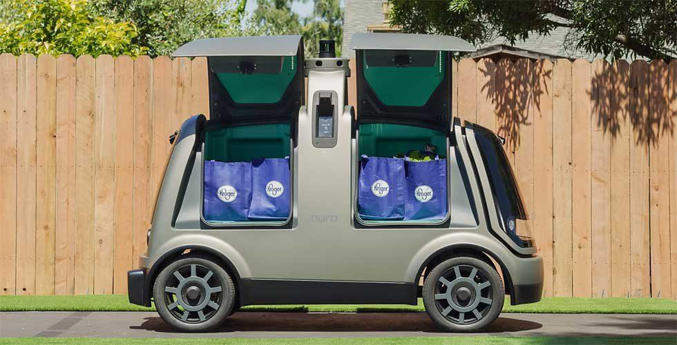 Kroger and Nuro tie up for autonomous grocery delivery