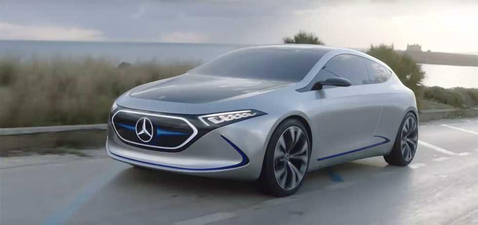 Mercedes-Benz unveils working compact EQA EV prototype
