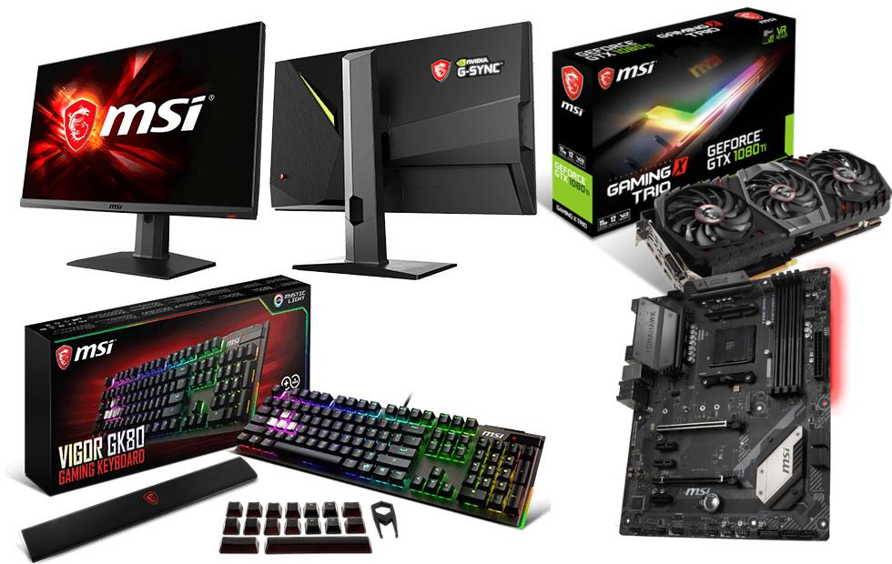 MSI gaming products march onto Computex 2018