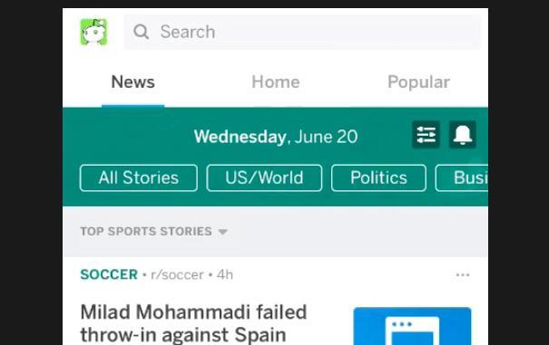 Reddit brings dedicated News tab beta to all of its iOS