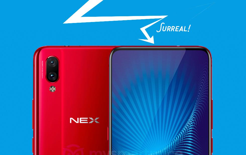 Vivo NEX shows China's phones are faster to fun than Samsung, Apple, etc