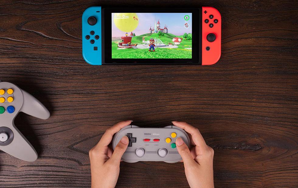 8Bitdo Zero 2 tiny retro controller has Nintendo Switch support