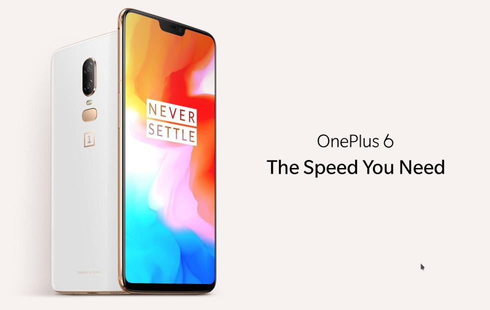 OnePlus 6 Silk White sold out: here's when you can buy one next