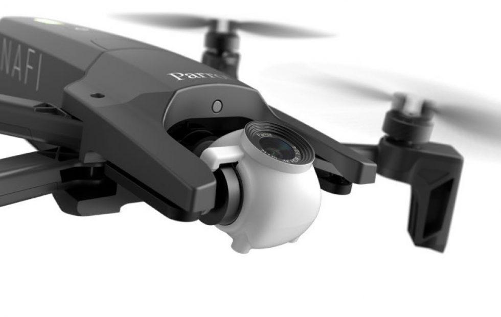Parrot Anafi drone is a 4K HDR flying camera
