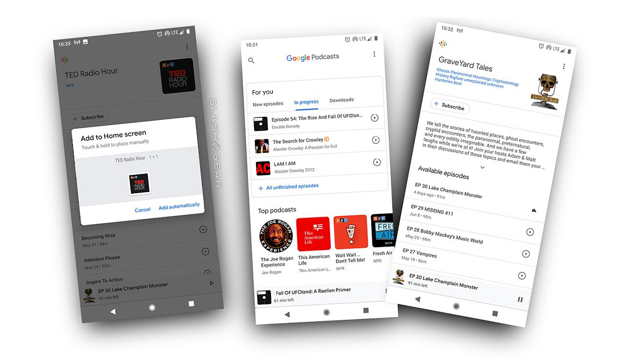 Google Podcasts app download on Google Play - SlashGear