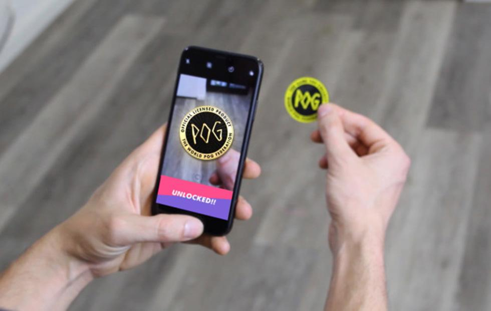 POGs return as an augmented reality mobile game