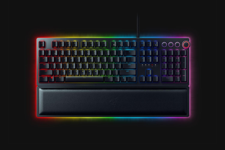 Razer Huntsman keyboard delivers opto-mechanical key