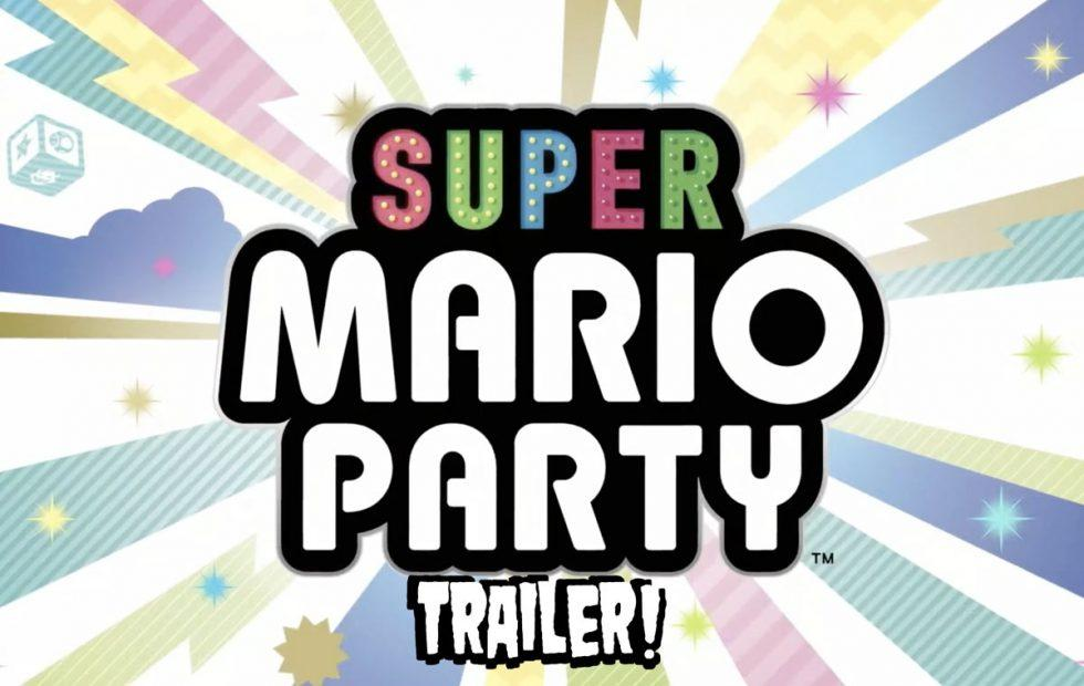 New Super Mario Party trailer uses more than one Nintendo Switch