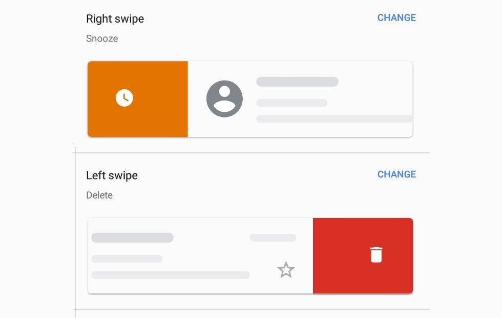 Gmail, Google Keep swipe actions: here's what they do