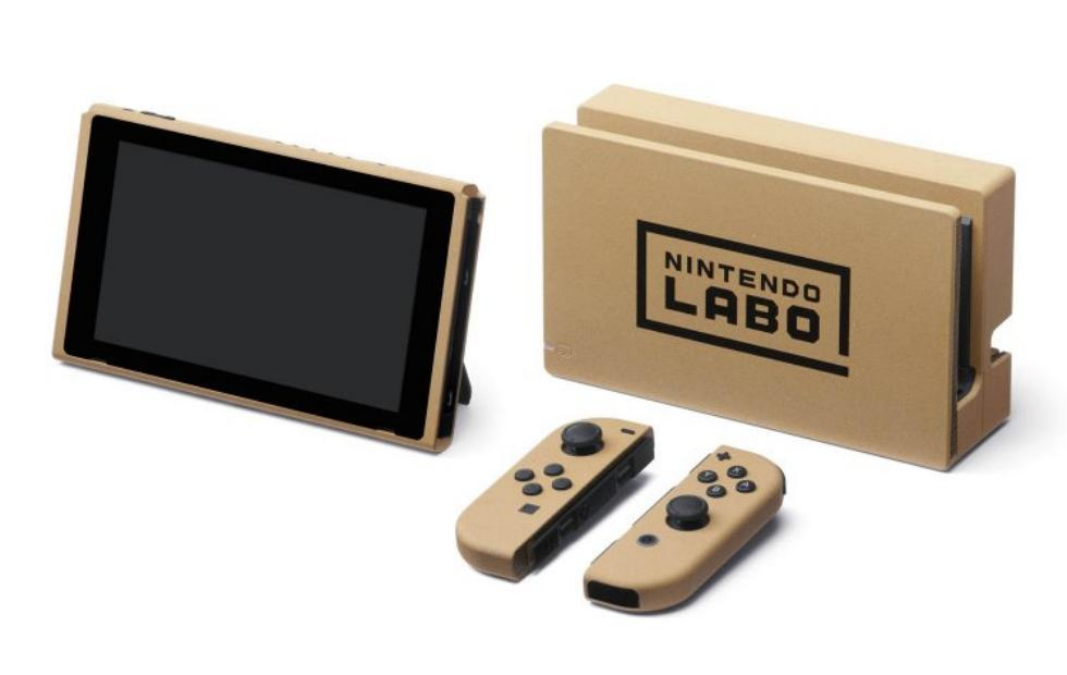 Nintendo Switch cardboard edition available only in Labo contest