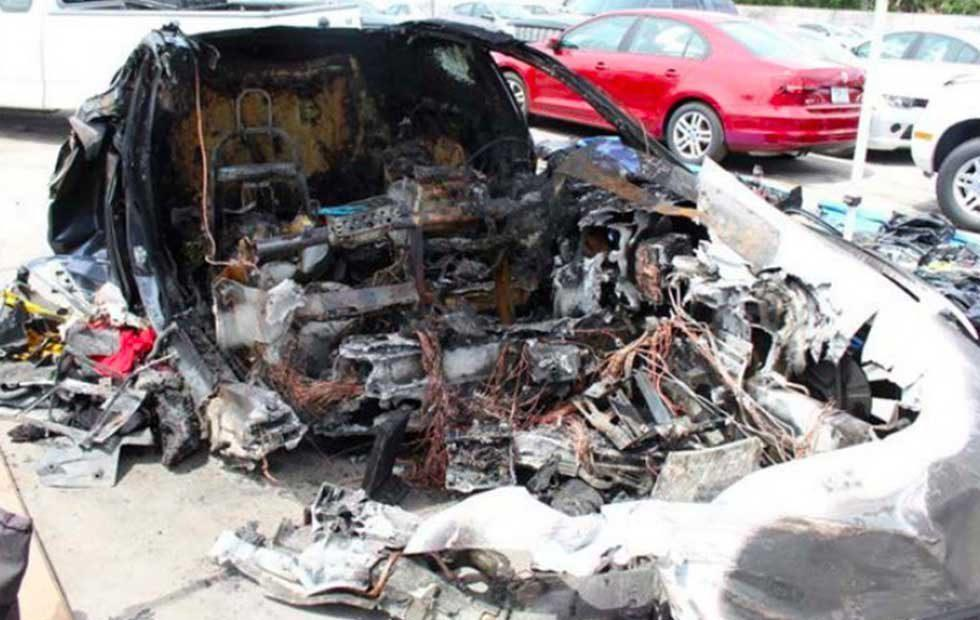 NTSB says Tesla battery reignited twice after fatal accident [Updated]