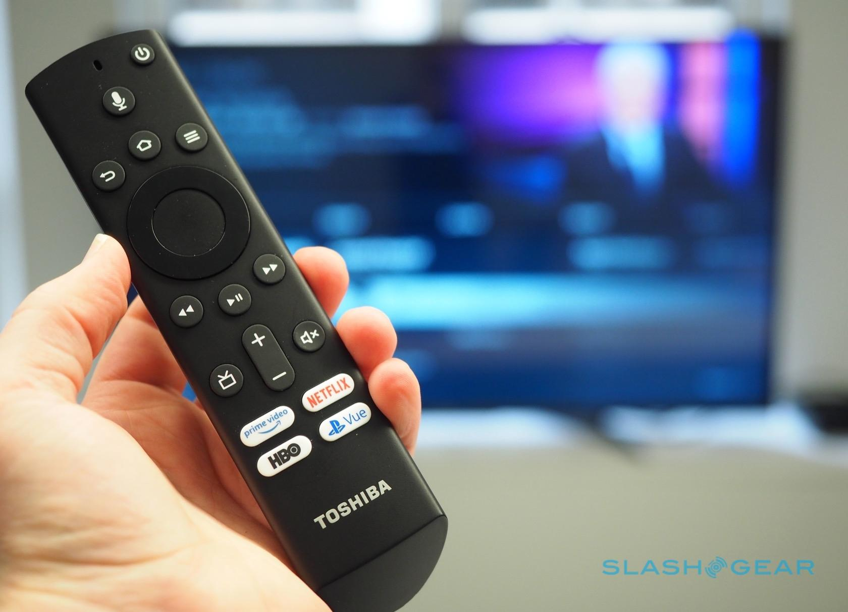 Toshiba S Fire Tv Edition Hands On Alexa Smart Tv Ships Today Slashgear