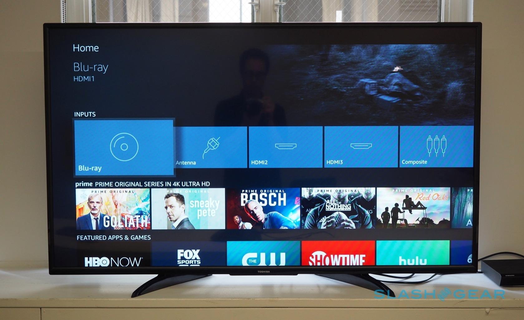 Toshiba's Fire TV Edition hands on: Alexa-smart TV ships today