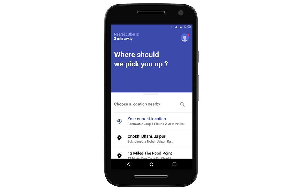 Uber Lite 5MB Android app targets emerging markets