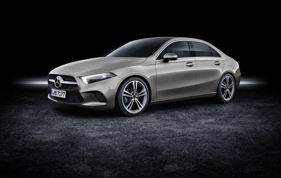2019 Mercedes-Benz A-Class Sedan Gallery
