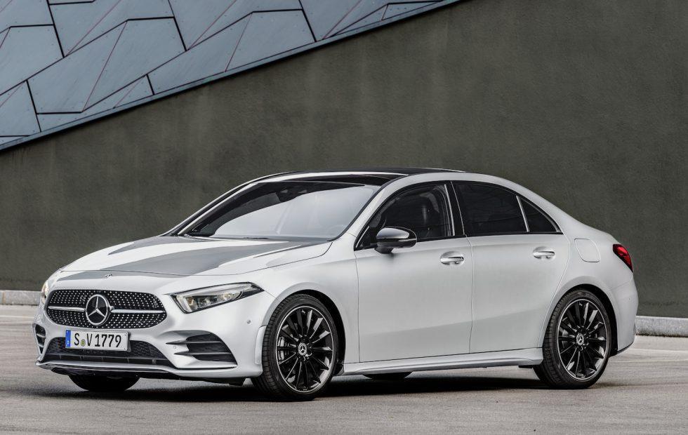 Mercedes Benz A Class >> 2019 Mercedes Benz A Class Sedan Revealed For Us Slashgear