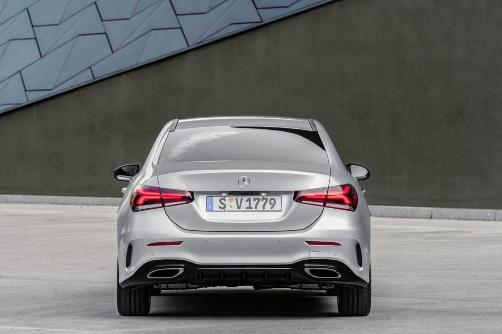2019 mercedes benz a class sedan revealed for us slashgear