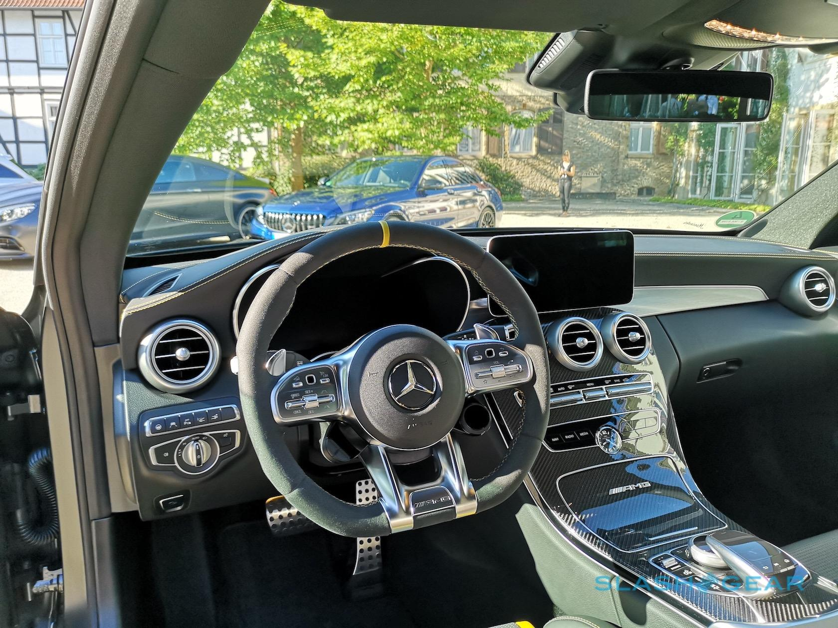2019 Mercedes-AMG C63 S and C63 Gallery - SlashGear