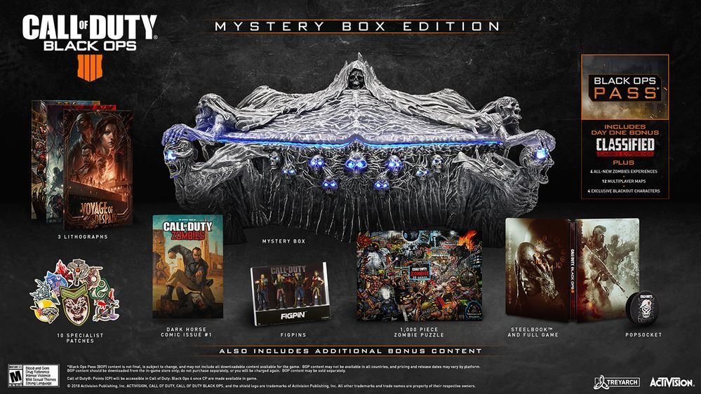 Call Of Duty Black Ops 4 Mystery Box Collector S Edition Revealed Slashgear