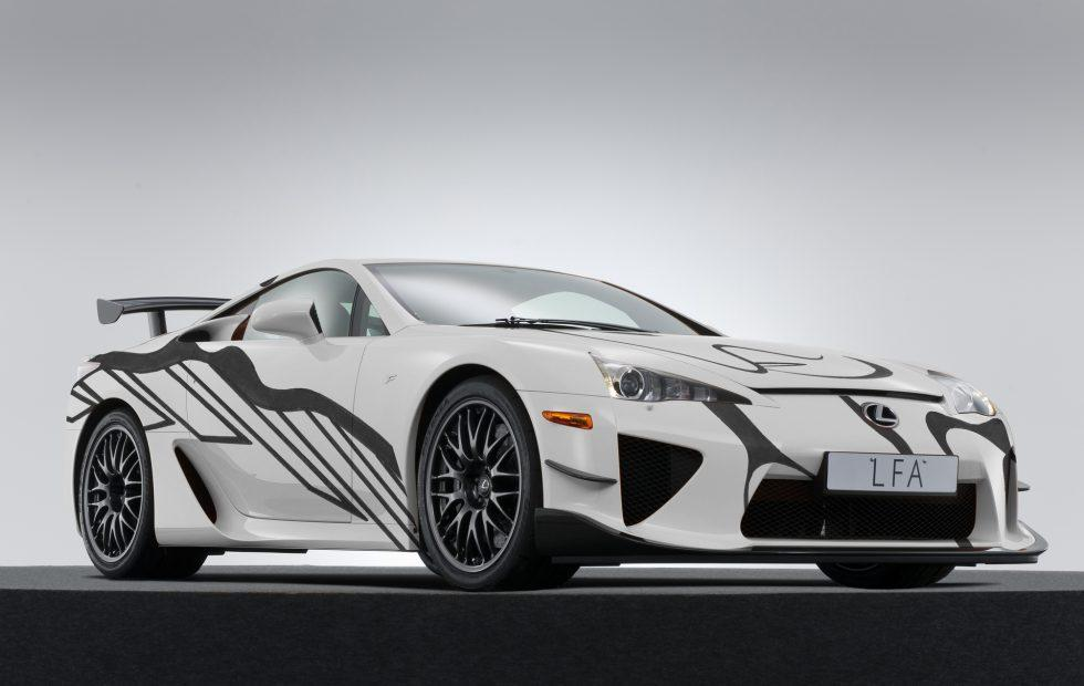 Lexus gave its LFA the Art Car treatment