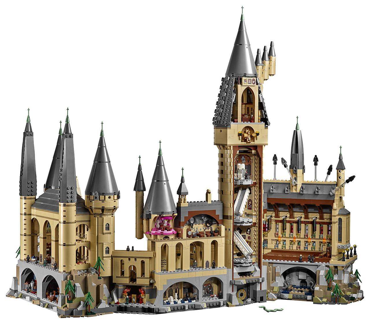 This Giant Lego Hogwarts Set Is A Harry Potter Fans Dream Slashgear