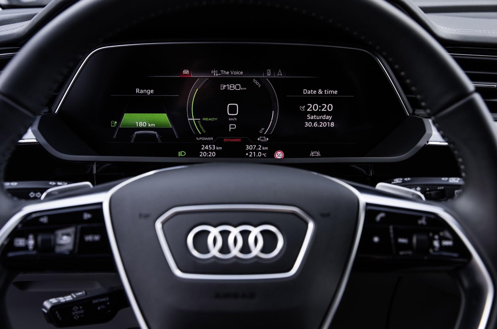 The 2020 Audi e-tron's cabin is an EV tech haven - SlashGear