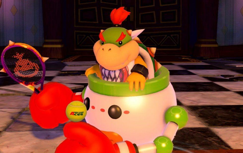 Mario Tennis Aces update addresses the tyranny of Bowser Jr